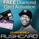 Prepaid Visa Diamond RushCards